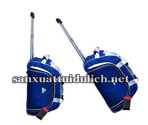 Sản xuất túi du lịch kéo xanh