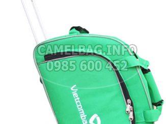 Túi kéo du lịch quà tặng Vietcombank