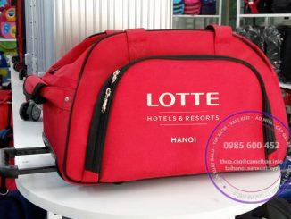 Sản xuất túi du lịch kéo Lotte