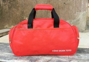 Vĩnh Phúc: Sản xuất túi du lịch công đoàn ToTo