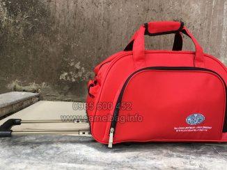Sản xuất túi du lịch kéo quà tặng ITC