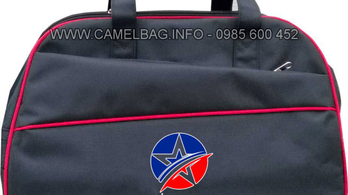 Sản xuất túi du lịch in logo Sao Kim