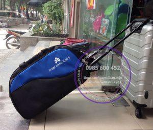 Sản xuất túi du lịch kéo quà tặng khách sạn Nikko Hà Nội