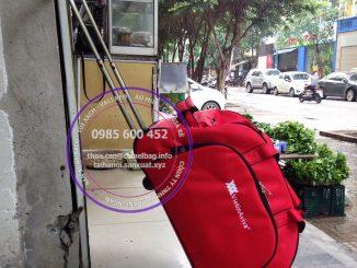 Sản xuất túi kéo du lịch VietinAviva