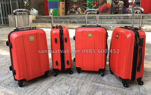 Sản xuất vali nhựa Kingphar
