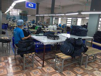 Nhà máy gia công túi xách xuất khẩu