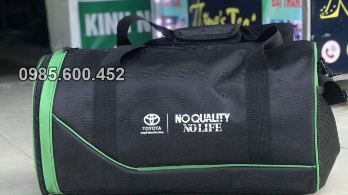 Sản xuất túi du lịch quà tặng Toyota